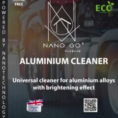 ALUMINIUM CHROME BATHROOM CLEANER