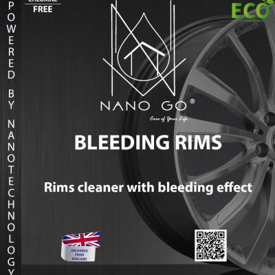 CLEANING ALLOYS RIMS Coatings cleaner impregnates